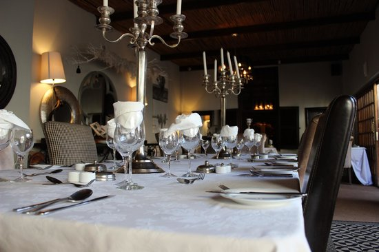 Lairds Lodge Country Estate: Beautiful dining room