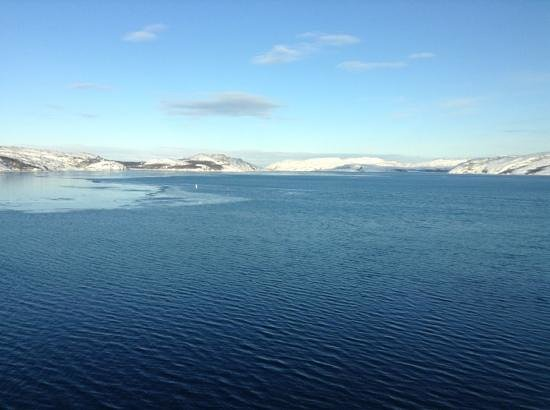 Thon Hotel Kirkenes: View from our room!