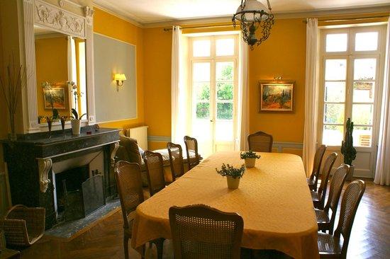 Maison Josephine: Table d'hôtes et petit dejeuner