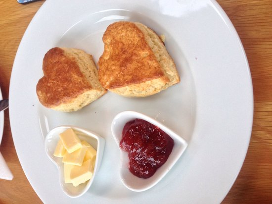 Moor View Bed and Breakfast: Lovely homemade scones