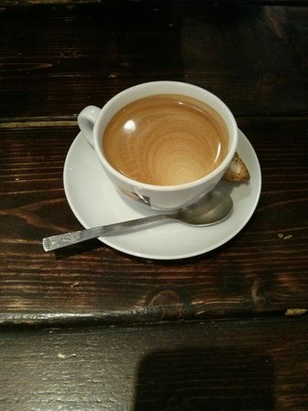 Cafe Ronak: The perfect Americano