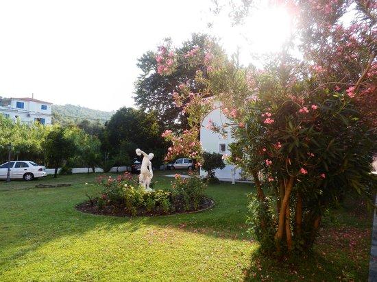 Mandraki Village Boutique Hotel : giardino dell'hotel