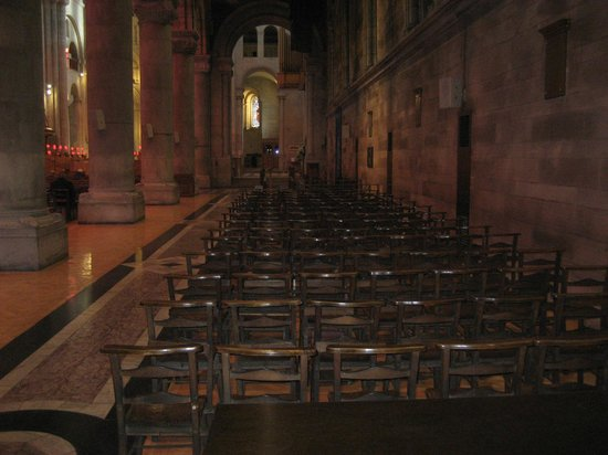 St. Anne's Cathedral: Seating