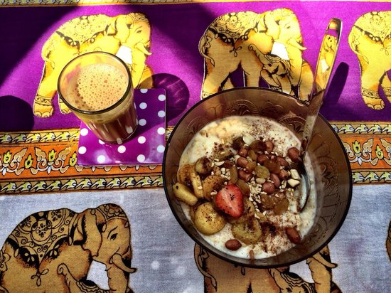 Little World: Chai masala and porridge