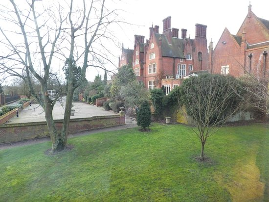 Dunston Hall: View from our window