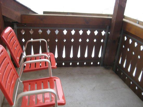 Hotel Gravas: Balkon Südzimmer