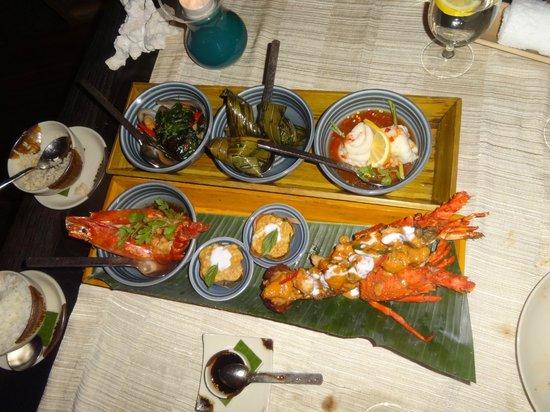 Anantara Dhigu MaldivesResort: Thai restaurant ta bir gece !