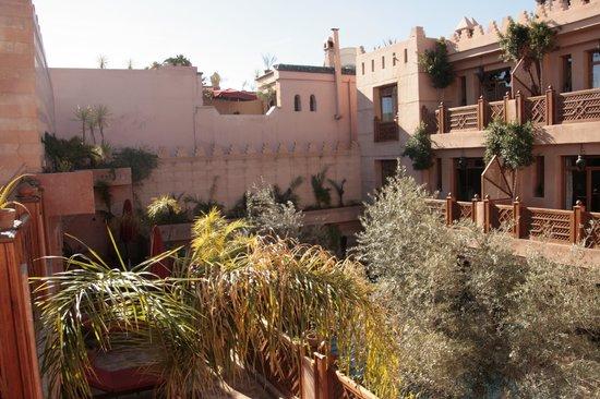 La Maison Arabe : Vue de la chambre coté piscine