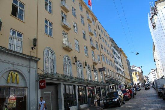 Thon Hotel Bristol Bergen : Отель