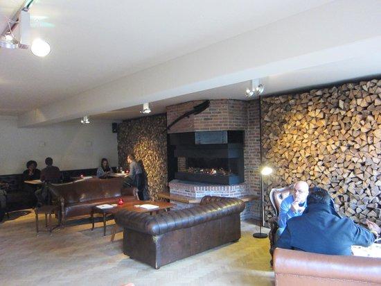 Brouwerij De Halve Maan : Fireplace