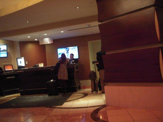 New Orleans Marriott : ホテルのロビー