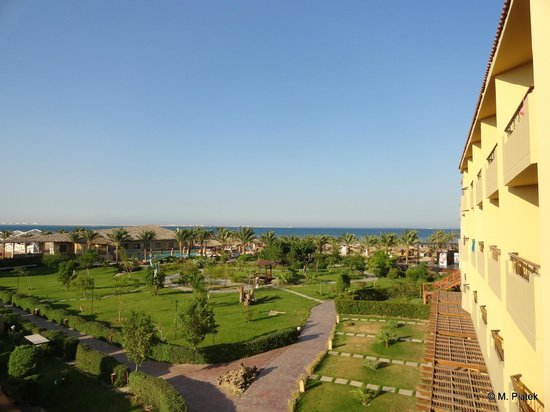 Amwaj Blue Beach Resort & Spa: Sea view