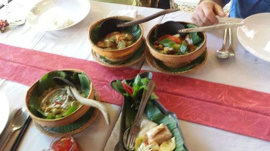Bopha Siem Reap Boutique Hotel: Pietanze