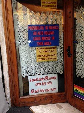 Antica Trattoria da Tito: solo carne poco cotta