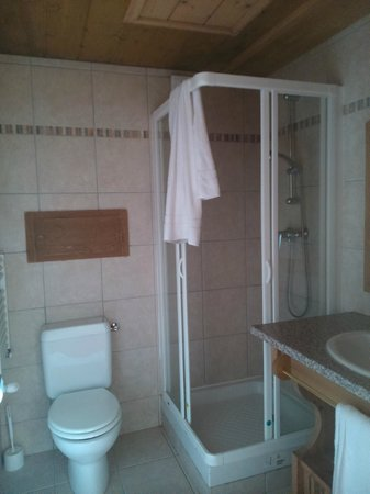 Hotel Le Vancouver - LVH Vacances : Small room - shower stall