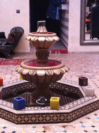 Riad Nesma : internal courtyard
