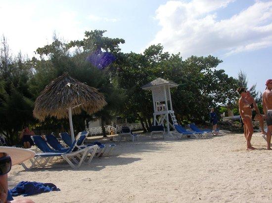 Grand Bahia Principe Jamaica : Beach area, beautiful beaches.