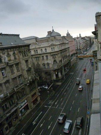 Eurostars Budapest Center Hotel : Vista desde la habitación