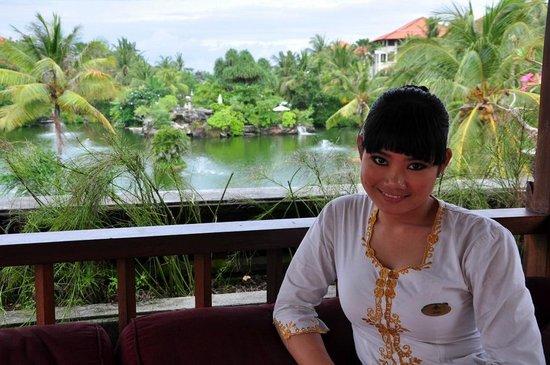 Ayodya Resort Bali: beatiful and kind hotel staff