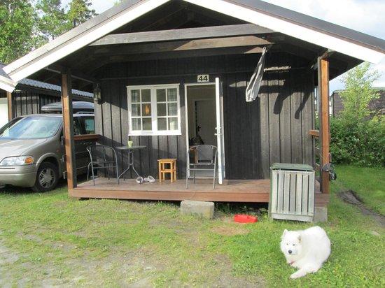 Storsand Gård Camping : Fine velholdte hytter