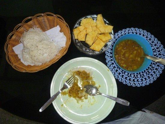 ChristVille Homestay: petit déjeuner kéralais