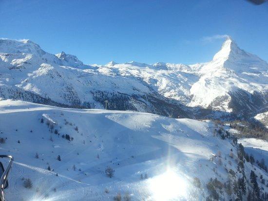 Hotel Mont Cervin Palace: zermatt skigebiet