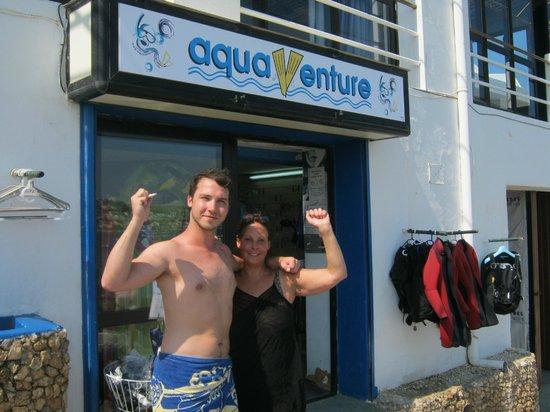 Aqua Venture: Myself 7 Job passing our open water Padi