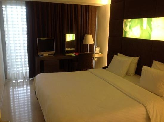 Brasil Suites Hotel Apartments : chambre cosy