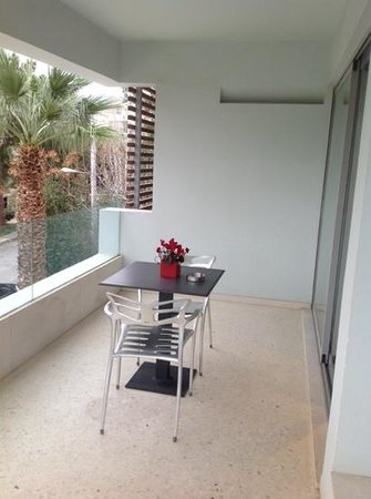 Brasil Suites Hotel Apartments : terrasse