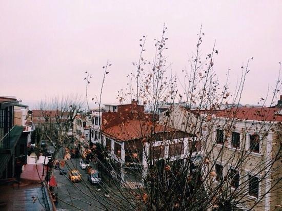 Charm Hotel: Вид с нашего балкона