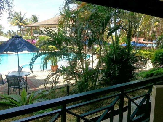 The Qamar Paka, Terengganu: Pool view from room balcony