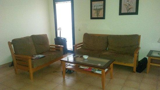 Villas del Sol: huiskamer