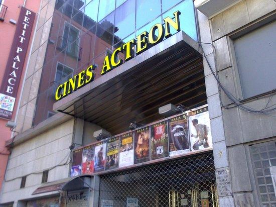 Plaza del Carmen: Cines Acteón