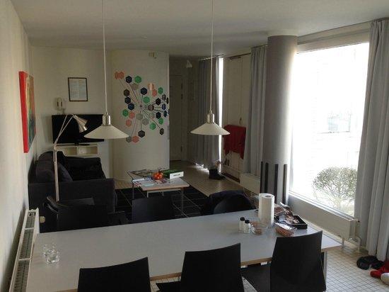 Kolding Hotel Apartments: Opholdsstue