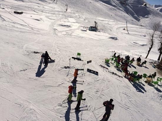 Shemshak Ski Resort : i took this photo in shemshak ski