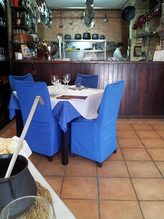 Restaurante Casa Riquelme: Interior. Corrida fans