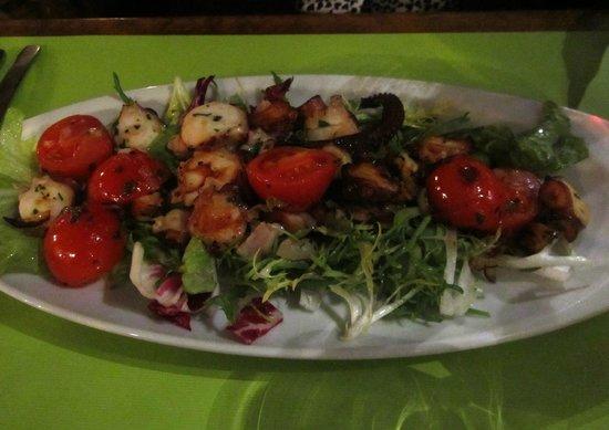 Les Delices d'Aphrodite : Octupus salad