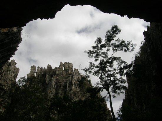 Salitre Grotto: Vista de dentro da Gruta.
