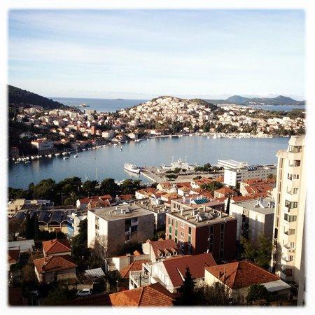 Hotel Adria: Quelle vue!