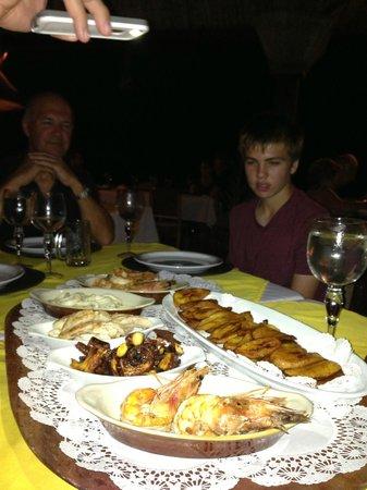 Hacienda del Mar: Pescado
