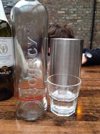 Pieke Potloed : Wijn met water