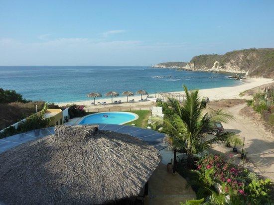 Manta Raya Hotel : Wunderbare aussicht auf den Pazifik