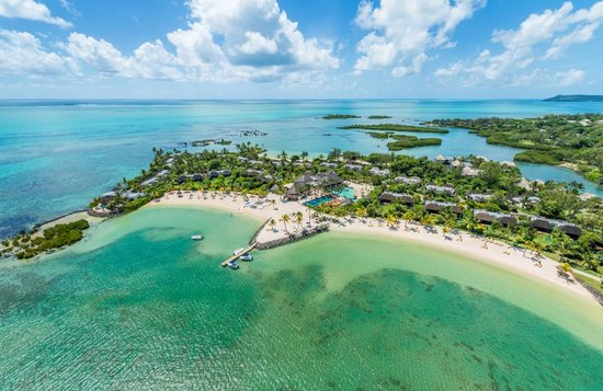 Four Seasons Resort Mauritius at Anahita: Aerial View of Resort