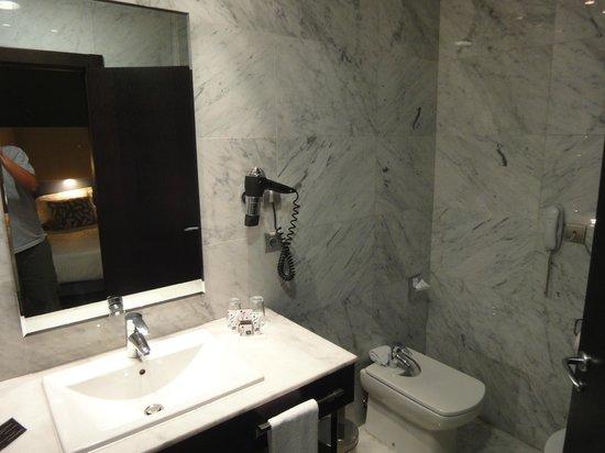 Hotel Nuevo Boston: banheiro