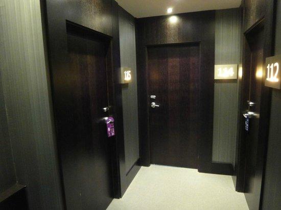 Hotel Nuevo Boston: corredor