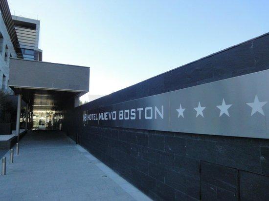 Hotel Nuevo Boston: frente