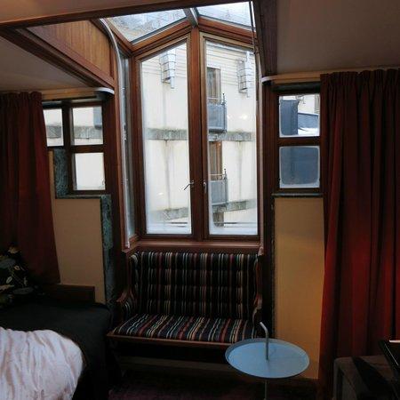Berns Hotel : Window in the room