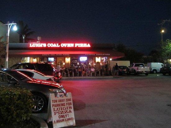 luigi's coal oven pizza: look for Luigi's