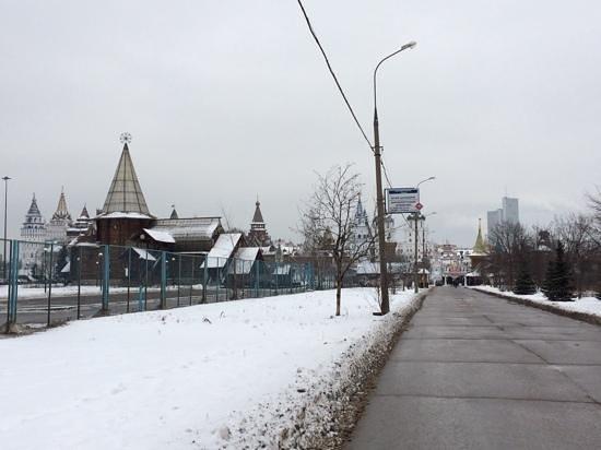 Izmailovsky Market : Izmaelovo market in February-14