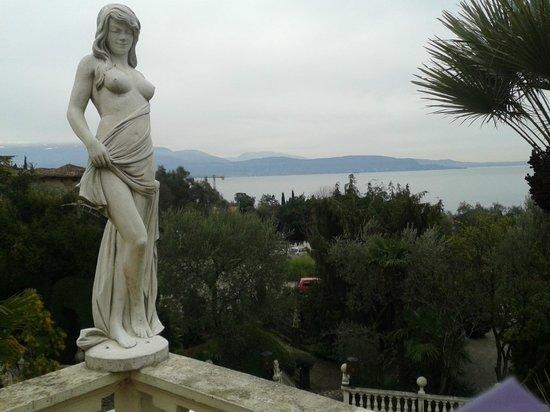 Hotel Ville Montefiori: Vista lago